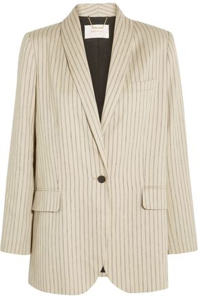 ZIMMERMANN Pinstriped twill blazer