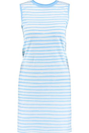 MARC BY MARC JACOBS Striped cotton-jersey mini dress