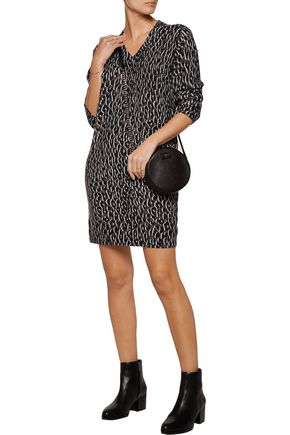 EQUIPMENT Eunice printed cashmere sweater dress
