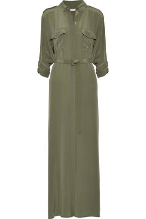 EQUIPMENT Major washed-silk maxi dress