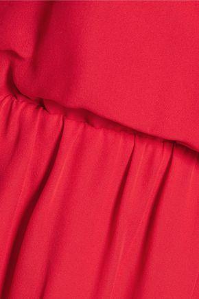 HAUTE HIPPIE The Exit Strategy silk-georgette mini dress