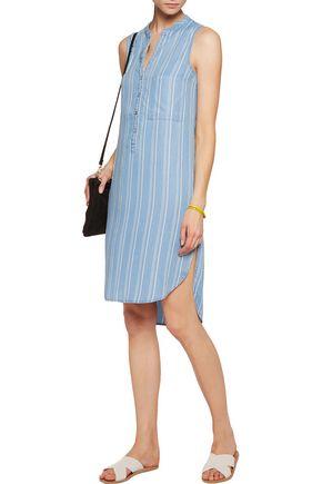 W118 by WALTER BAKER Sky striped chambray dress