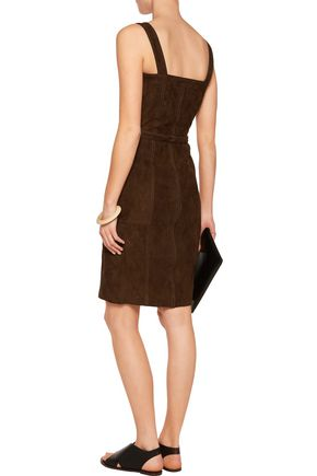 8 Suede dress