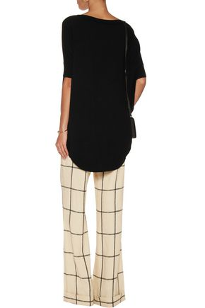 ALICE + OLIVIA Jodie wool-blend top