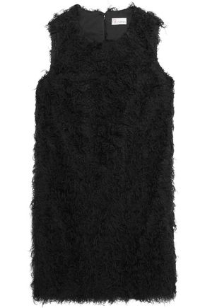 REDValentino Faux shearling mini dress