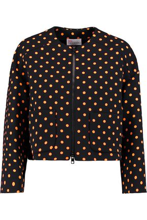 RED(V) Polka-dot crepe jacket