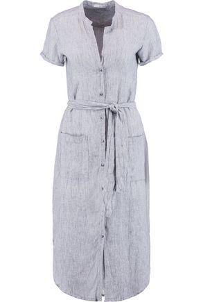 JAMES PERSE Striped linen dress