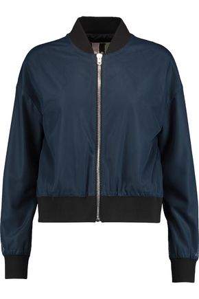 MSGM Mesh bomber jacket