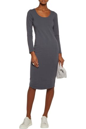 MONROW Stretch-cotton dress