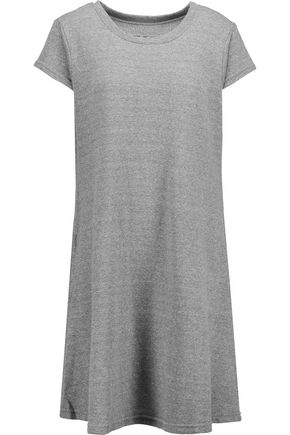 CURRENT/ELLIOTT The Beach Tee pleated cotton-jersey dress