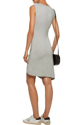 KAIN Aurelia layered ruched stretch-modal dress