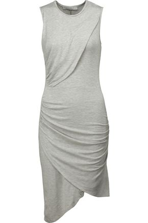 KAIN LABEL Aurelia layered ruched stretch-modal dress