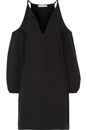 KAIN Tulum cold-shoulder cady dress
