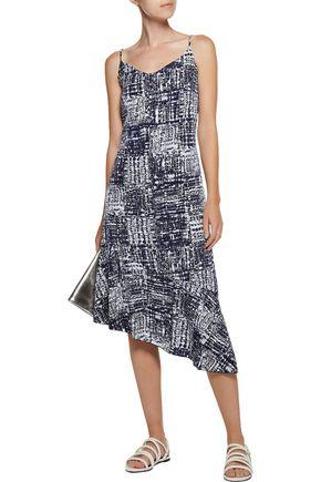 KAIN Nicola asymmetric printed voile dress