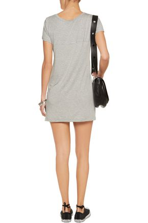 KAIN LABEL Zelda striped cotton and modal-blend jersey mini dress