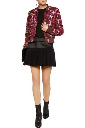 JUST CAVALLI Embroidered chiffon jacket