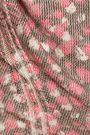 JUST CAVALLI Printed wool-blend mini dress