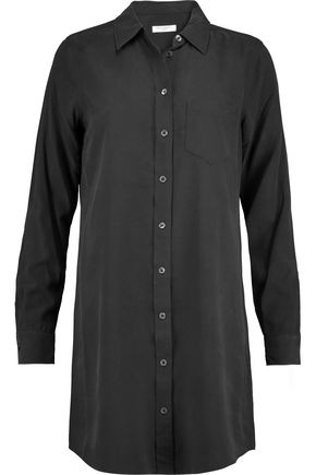 EQUIPMENT Brett washed-silk mini shirt dress
