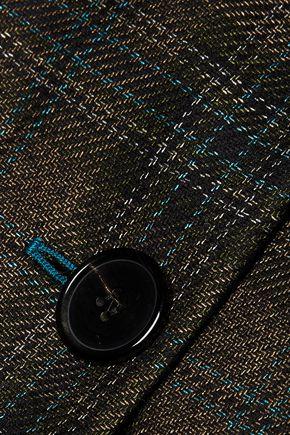MAISON MARGIELA Checked wool-blend jacket