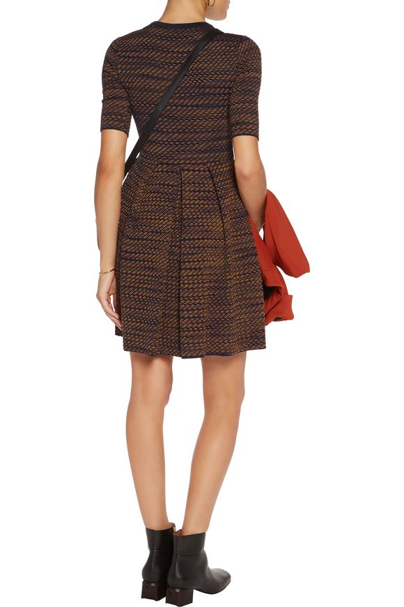 Pleated jacquard-knit mini dress | M MISSONI | Sale up to 70% off | THE  OUTNET