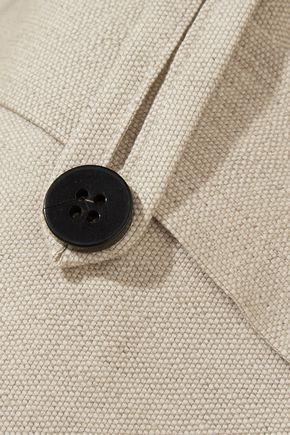 TOTÊME Innsbruck linen and cotton-blend jacket