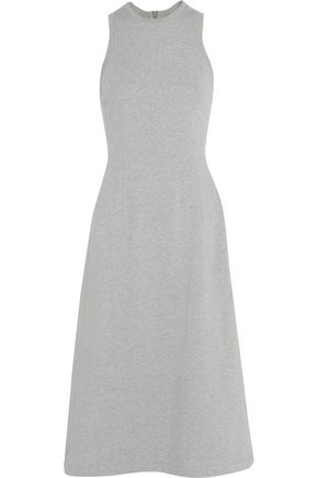 T by ALEXANDER WANG Cotton-jersey midi dress