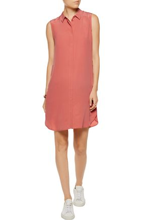 EQUIPMENT Lanie washed-silk mini dress