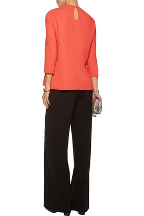 PREEN by THORNTON BREGAZZI Audrey stretch-ponte peplum top