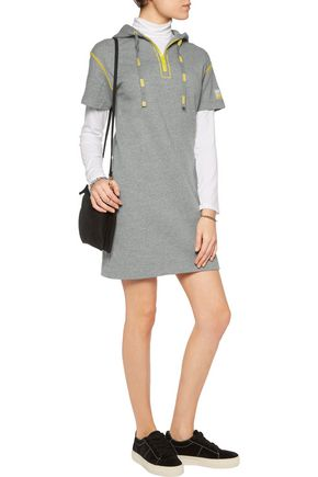 MARC BY MARC JACOBS Cotton-jersey hooded mini dress