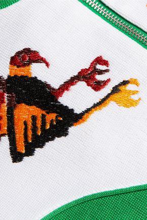 STELLA JEAN Embroidered cotton jacket