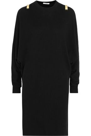 GIVENCHY Embellished wool-blend sweater dress