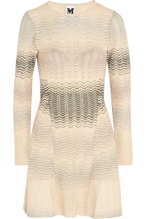 M MISSONI Crochet-knit mini dress