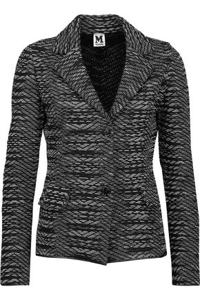 M MISSONI Crochet-knit blazer