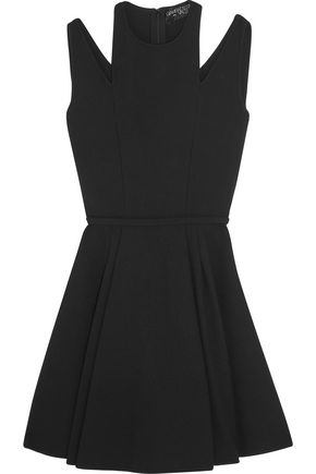 GIAMBATTISTA VALLI Cuout crepe mini dress