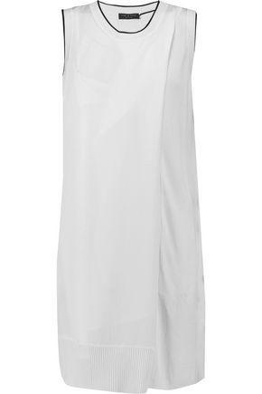 RAG & BONE Abby washed-twill mini dress