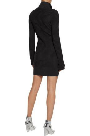 J.W.ANDERSON Ribbed wool dress