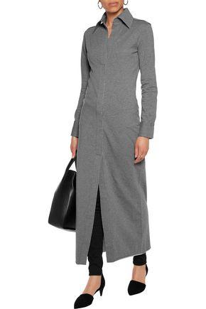 NORMA KAMALI Cotton-blend maxi dress