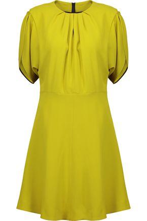 MSGM Gathered crepe dress