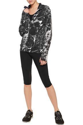NORMA KAMALI Printed jersey jacket