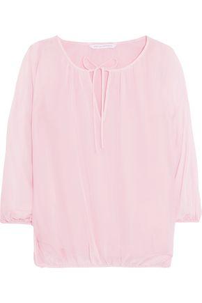 DIANE VON FURSTENBERG Emelia silk-chiffon blouse