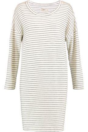 CURRENT/ELLIOTT The Painter striped cotton-jersey mini dress