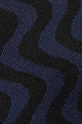 MARY KATRANTZOU Jacquard-knit mini dress