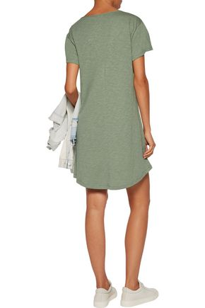TART COLLECTIONS Nash cutout slub cotton-jersey mini dress