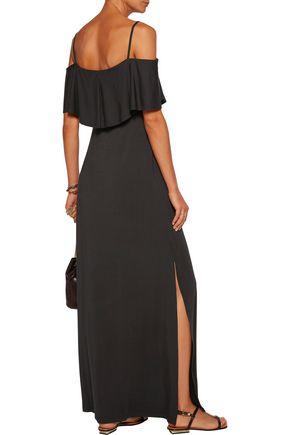 TART COLLECTIONS Tacita cold-shoulder stretch-modal maxi dress
