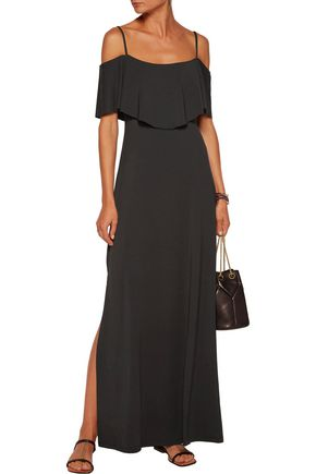 TART COLLECTIONS Tacita cold-shoulder stretch-modal maxi dress