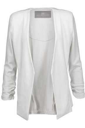 TART Olga striped stretch-jersey blazer