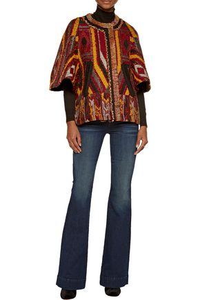 CHLOÉ Wool-blend bouclé-tweed jacket