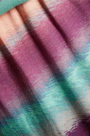 VIX Taysa striped woven maxi dress