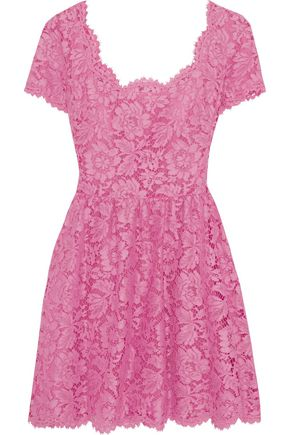 VALENTINO Corded lace mini dress