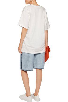 MOSCHINO Reversed denim shorts